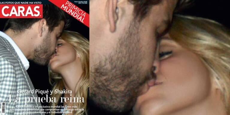 Shakira & Piqué zeigen ihre junge Liebe