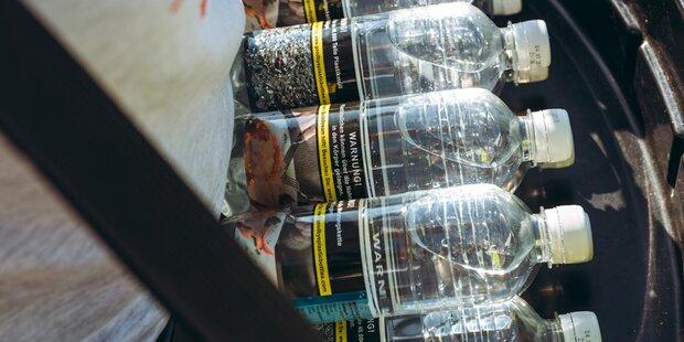 Kommen bald Schock-Bilder auf Plastikflaschen?