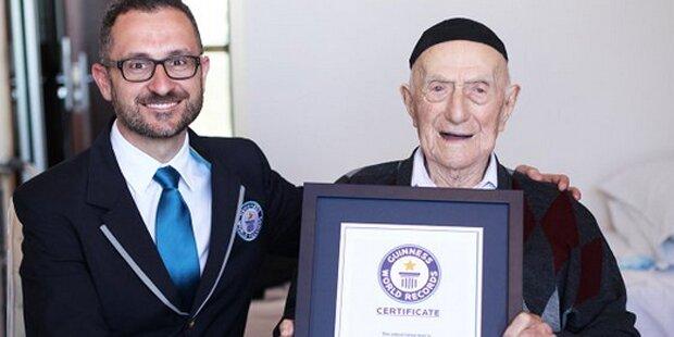Ältester Mann der Welt starb mit 113 Jahren