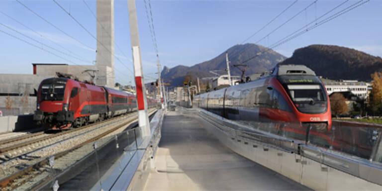Baustelle am Wochenende: Zugverkehr betroffen
