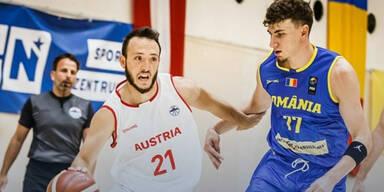 ÖBV-Männer verlieren 68:73 gegen Rumänien