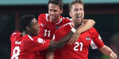 ÖFB-Team verbessert sich im FIFA-Ranking