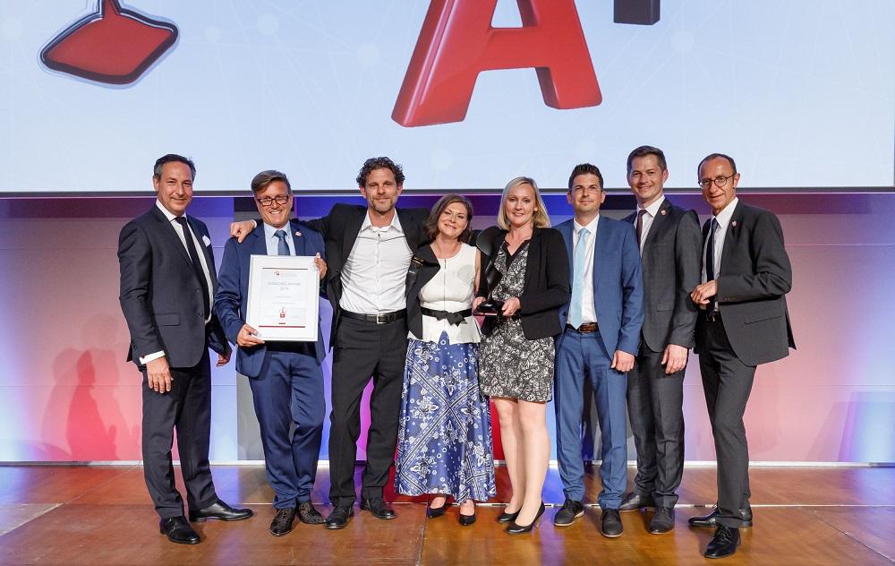 ÖFV Award - Franchise-CH - Gewinner 2019 - Bestes Franchise System - A1 Telekom Austria AG