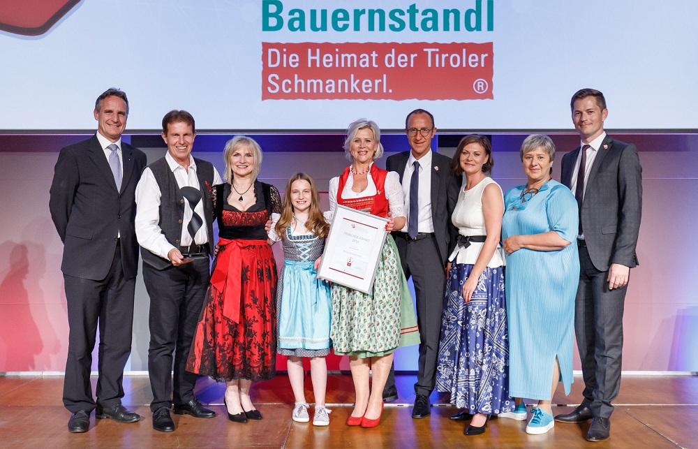 ÖFV Award - Franchise-CH - Gewinner 2019 - Social Award - Tiroler Bauernstandl