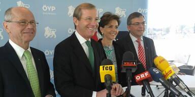ÖVP Präsentiert neues Team