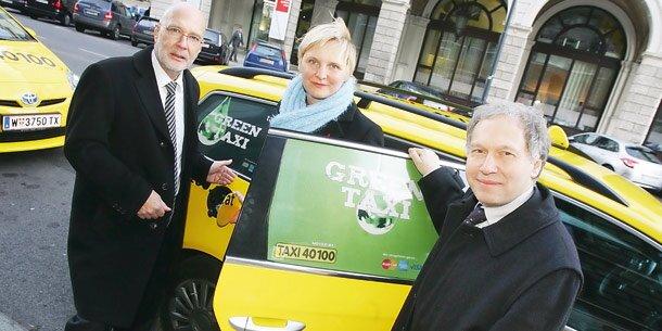 Wien: Öko-Taxis im Vormarsch