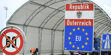 Österreich Grenze Nickelsdorf