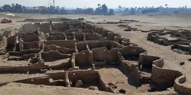 Riesige antike Stadt in Ägypten entdeckt