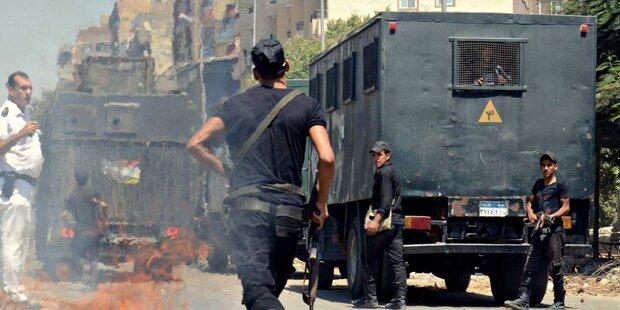 Sechs Polizisten im Sinai getötet