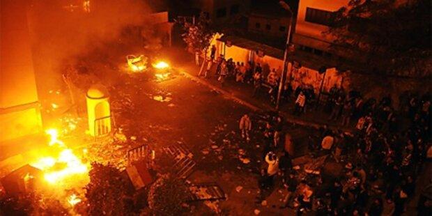 Kairo: Plünderer greifen Krankenhäuser an