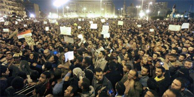 Tausende protestieren im Zentrum von Kairo
