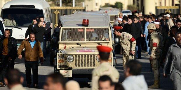 Terror erschüttert Ägypten: Ein Toter