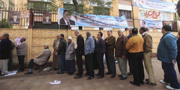 Rekord-Wahlbeteiligung in Ägypten