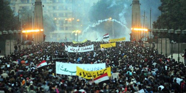 Allein dreizehn Tote in Suez