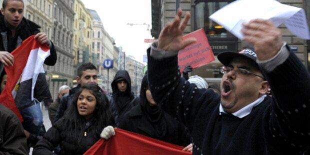 Ägypten: Demo auch in Wien