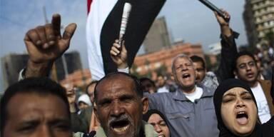 Massenmarsch in Kairo