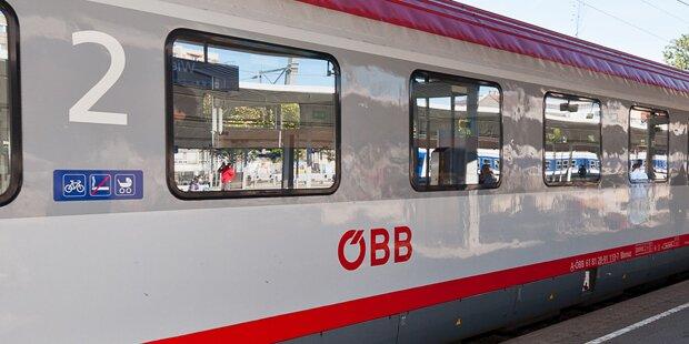 Nackter Mann masturbierte im Zug und bedrohte Fahrgäste