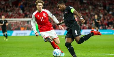Alaba gegen Dänemark