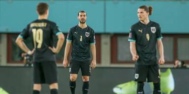 Österreich verliert gegen Dänemark