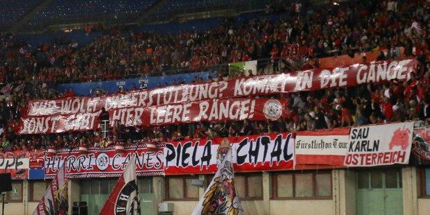 Österreich siegt gegen Serbien
