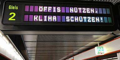 So unterstützen die Wiener Linien die Demos
