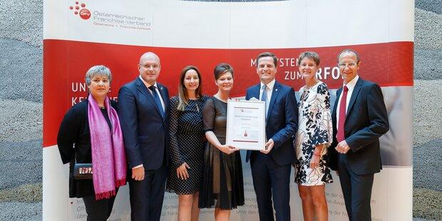 Österreichischer Franchise-Verband kürt seine Besten