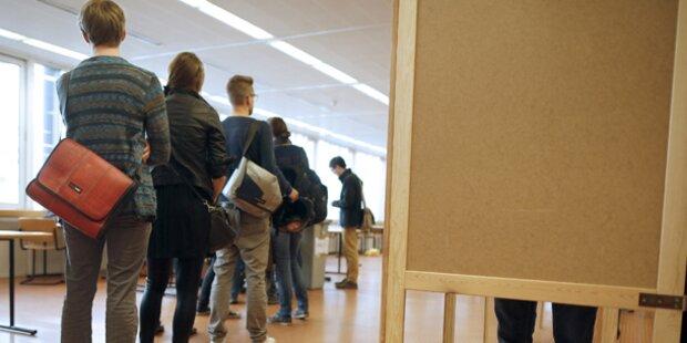 ÖH-Wahl: AG trotz Verlusten vorne