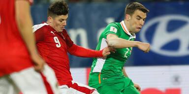 Peinlich! Österreich scheitert an Irland