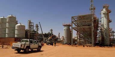 Ölfeld Algerien