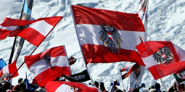 Nationalstolz der Österreicher schwindet