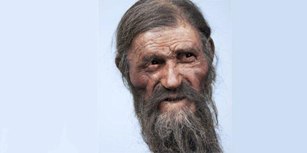So sah Eismensch Ötzi wirklich aus