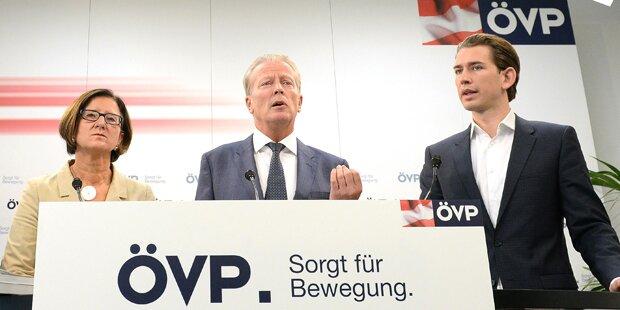 ÖVP: Volle Härte gegen Flüchtlinge
