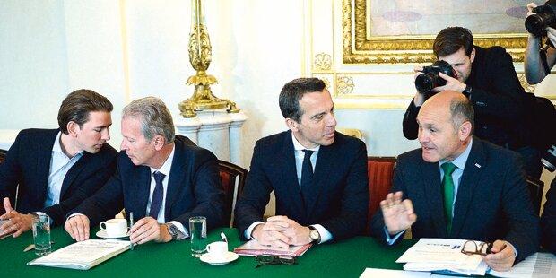 Flüchtlinge: ÖVP bereitet jetzt Notverordnung vor