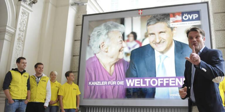 SPÖ und ÖVP starten zweite Plakat-Serie