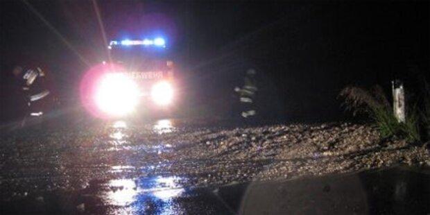 Starkregen sorgt für Überflutungen