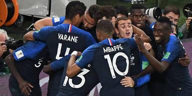 1:0 - Finale! Frankreich knackt Belgien