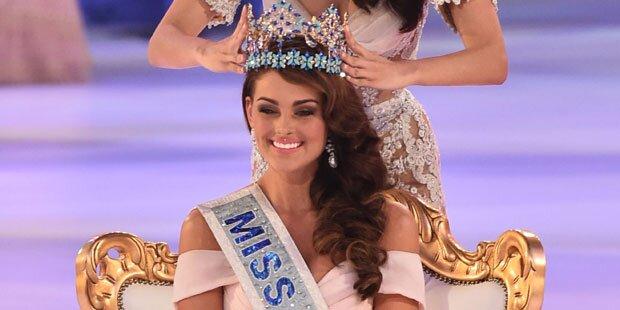 Rolene Strauss ist Miss World 2014