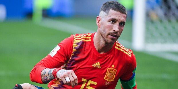 Fans Verspotten Weinenden Sergio Ramos