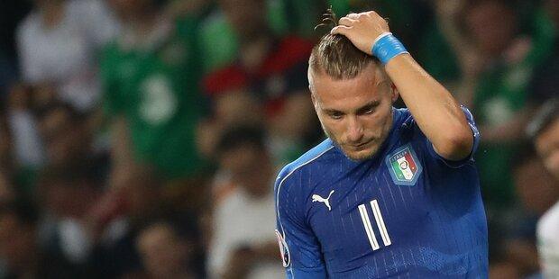 Italien-Torjäger mit Messer bedroht