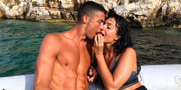 Ronaldo: Liebesgrüße aus dem Urlaub
