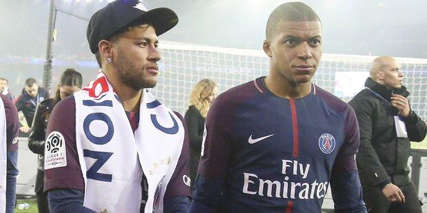 Irre Streitgerüchte um Mbappé und Neymar