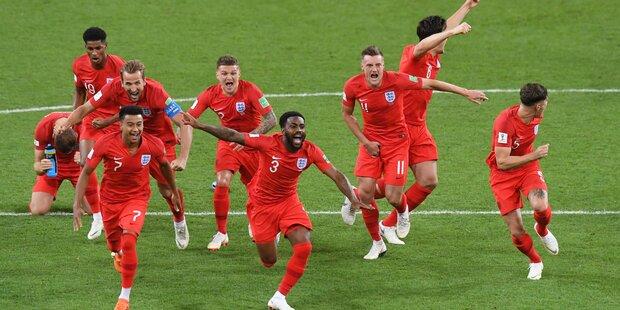 England nimmt das Finale ins Visier