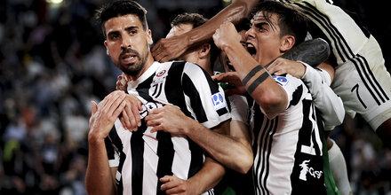 Juve-Stars heißen Ronaldo willkommen