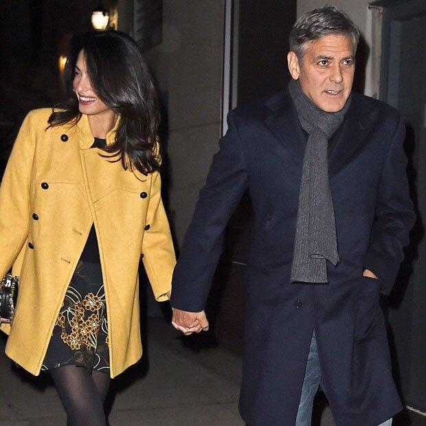 George Clooney und Amal: Die Zwillinge sind fast da - Preisvergabe abgesagt