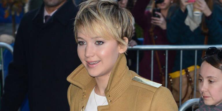 Jennifer Lawrence kurz vor Burn-Out?