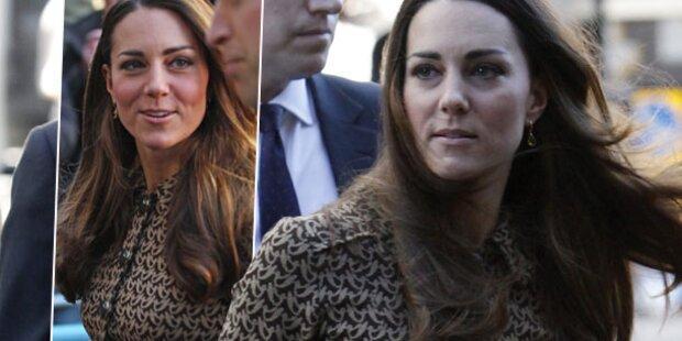 Kate: Baby George gönnt ihr wenig Schlaf