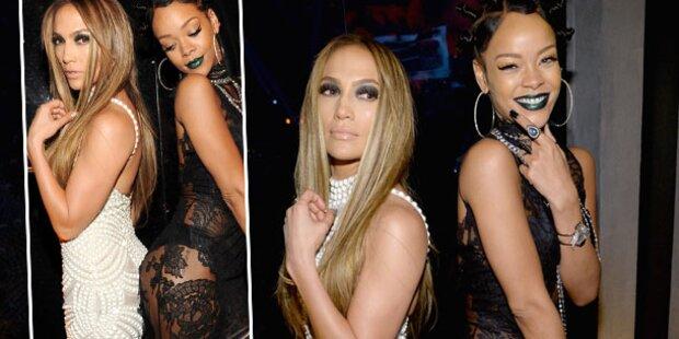 Rihanna & JLo: Das heißeste Po-Treffen