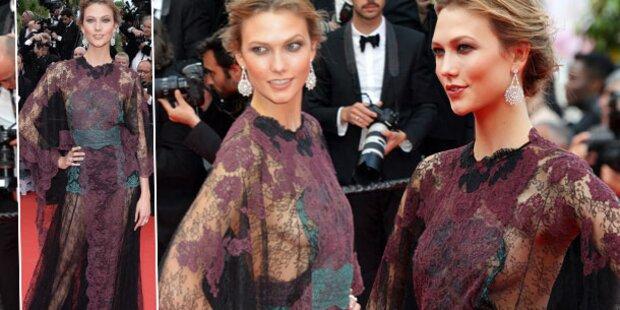Karlie Kloss lässt in Cannes tief blicken