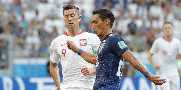 0:1 - Japan nur dank Fair Play weiter