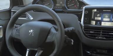 Innenraum des neuen Peugeot 2008